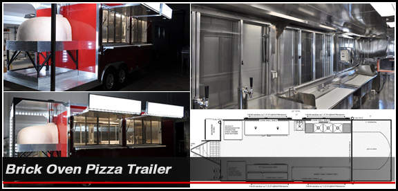 Concession Nation - Pizza Trailer