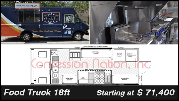 Concession Nation - Food Truck 18ft