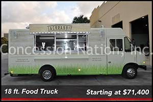 18 ft .Food Truck prices