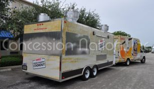 BBQ Trailers - Clean Harbors Cross County Cookout