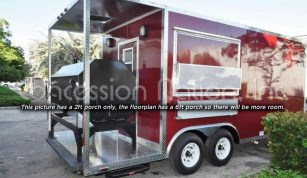 BBQ Trailers - Red Trailer