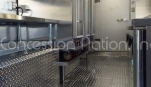 Food Truck with Walk in Cooler