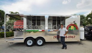 Brick Oven Pizza Trailers - PapaNizio's
