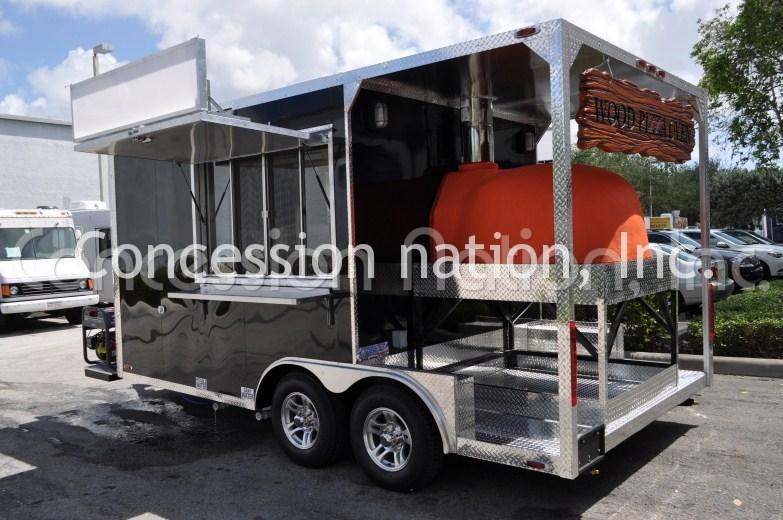 Pizza Food Trucks Pizza Concession Trailers Mobile
