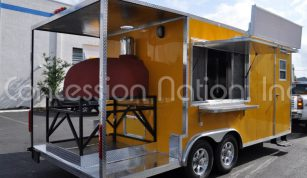 Brick Oven Pizza Trailers - Black Forest Flammkuchen