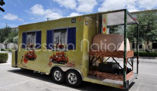 Brick Oven Pizza Trailers - Russian