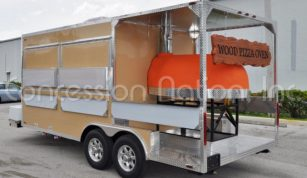 Brick Oven Pizza Trailers - New South Pizza' Inc.