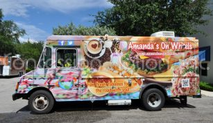 14 ft. Food Truck Amanda on Wheels