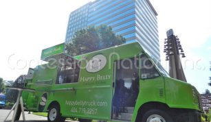 Happy Belly Truck - Green Egg