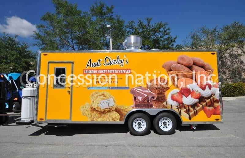 Graphics Only Custom Food Trucks Concession Trailer Decals