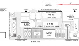 18' DUNE-DOG-CAFE food truck floor plan