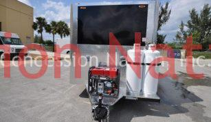 8x18 Professional Concession Trailer