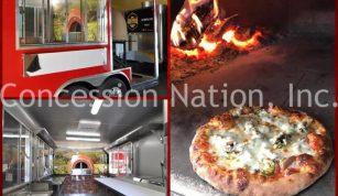 Kelley Girls Woodfire Pizza trailer
