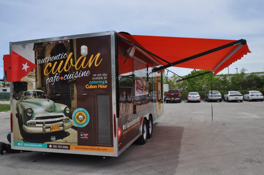 Why Your Food Truck Should Have An Awning Food Trucks For Sale