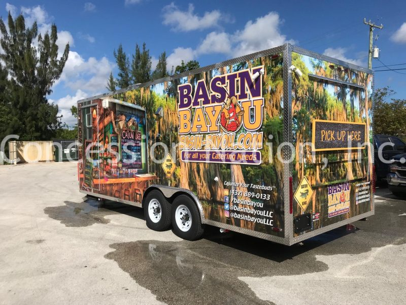 Taste of Louisiana Food Trailer