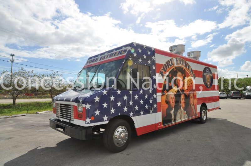 Fore Fathers Food Truck U.S. Air Force Kadena Japan