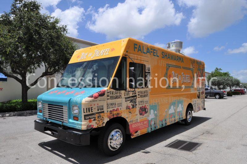 Google Gyro Food Truck_Blue de Falafel