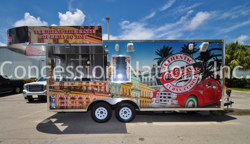 Menu board for food trucks & trailers