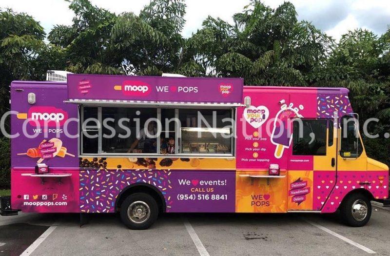 Moop pops gelato truck