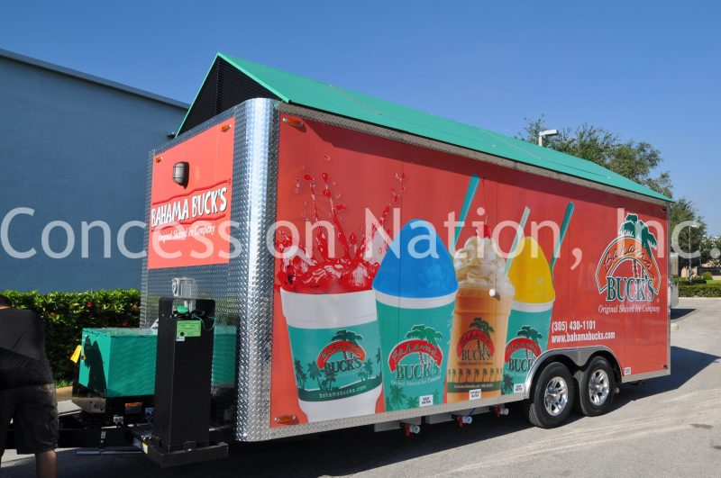 Bahama Buck's Trailer