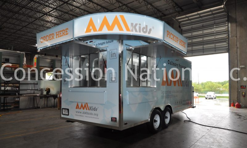 AMI Kids Concession Trailer