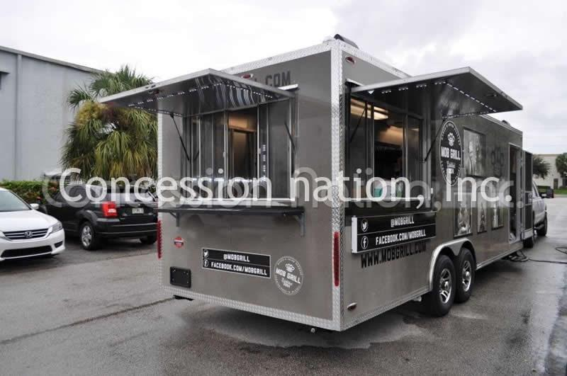 Mob Grill Food Trailer
