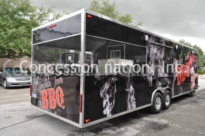 BBQ Trailers - Smokin Joe's BBQ