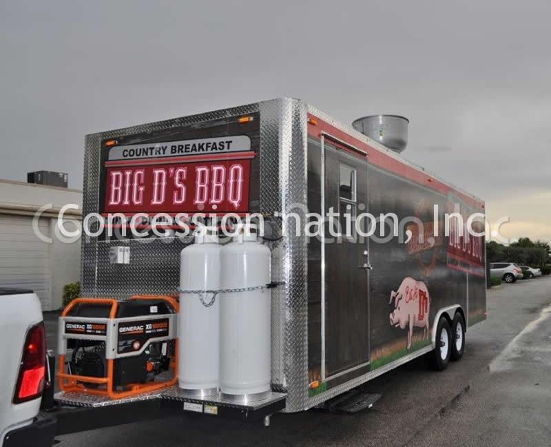 BBQ Trailers - Big D