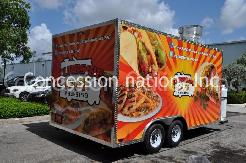 Caribbean Food Truck Custom Catering Trucks Concession