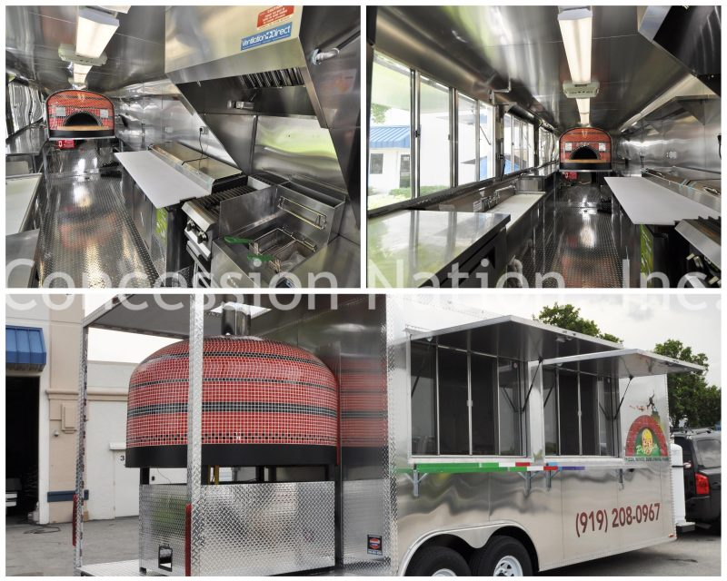 Brick oven pizza trailer_Nizio