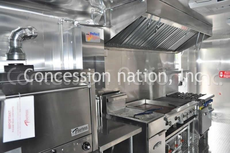 Mobile Vending Trucks Government Catering Concession