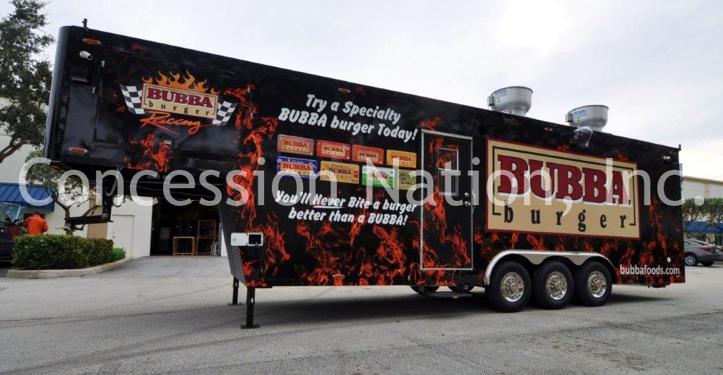 Bubba Burger Gooseneck Trailer