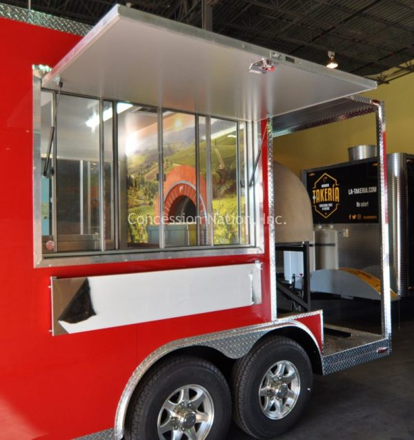 Kelley Girls Woodfire Pizza trailer