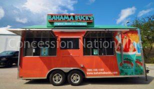 Bahama Buck's concession trailer_custom sign