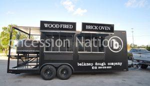 Belknap Dough Company Brick Oven Pizza Trailer