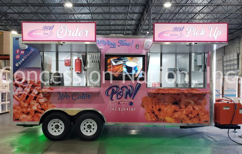 POW Concession Trailer
