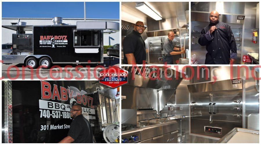 BBQ Smoker Concession Trailers For Sale | Concession Nation