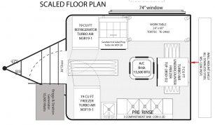 8x10 Concession Trailer Floor Plan