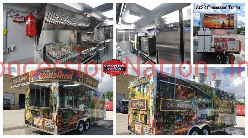 A Taste of Louisiana Concession Trailer