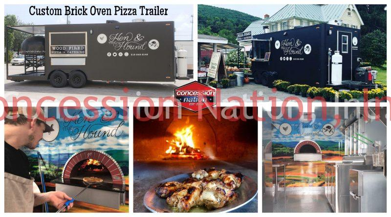 Brick Oven Pizza Trailer_THE HEN & THE HOUND