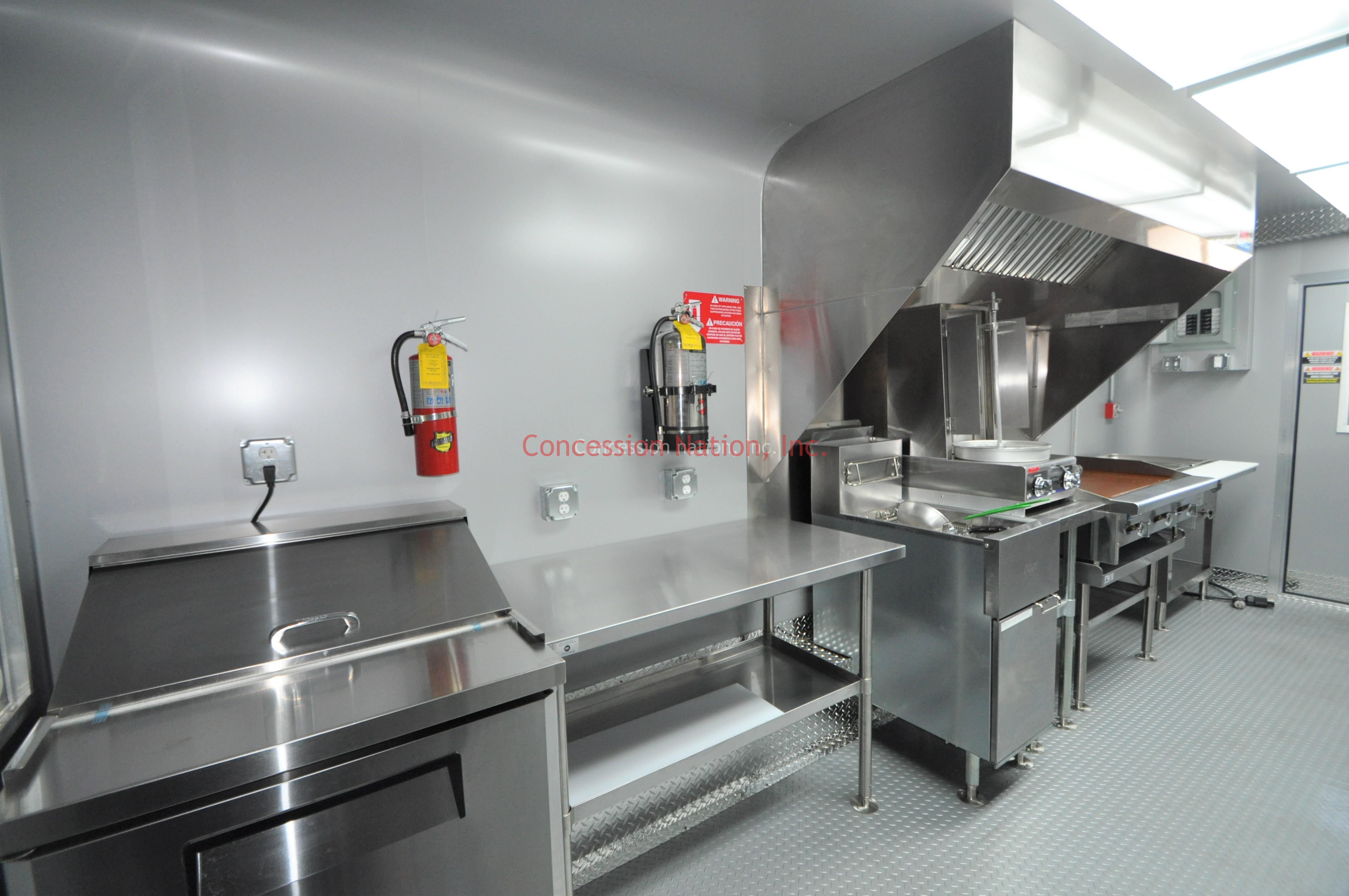 Dihimiters gyro food trailer